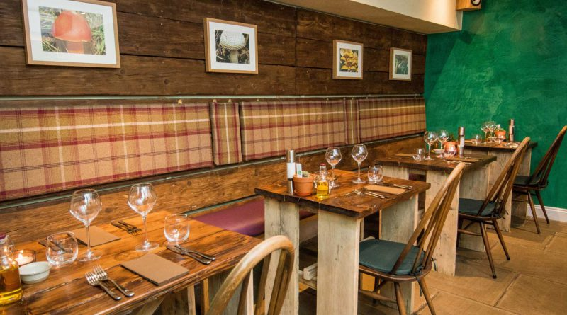 Forage & Chatter restaurant in Edinburgh